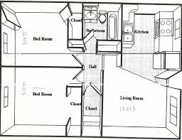 One Bedroom Apartment Designs by 100 1 Bedroom House Plans Bedroom New One Bedroom
