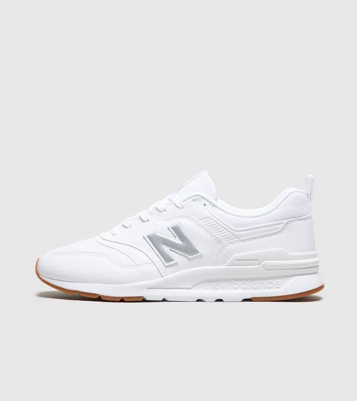 New Balance 997H White/Silver/Gum Running Shoes CM997HCN