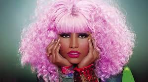 wallpaper nicki minaj haircut pink face makeup hd picture image