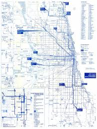 Public Transit Chicago Map by Chicago U0027 U0027l U0027 U0027 Org History The Cta Takes Over 1947 1970