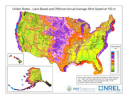 Wyoming Map Usa by Wind Maps Geospatial Data Science Nrel