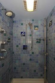Finehomebuilding Shower Background In An Ocean Of Hand Cut Tile Fine Homebuilding
