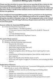 Example Of Annotated Bibliography Apa Format  th Edition   Cover     Template net