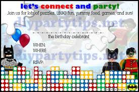Free Printable Birthday Invitation Cards With Photo Lego Birthday Invitation U2013 Gangcraft Net