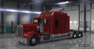 kenwood t600 kenworth w900 long edition truck american truck simulator mod