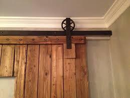 Barn Door Handle by Chrome Barn Door Brackets Never Leave Barn Door Brackets When