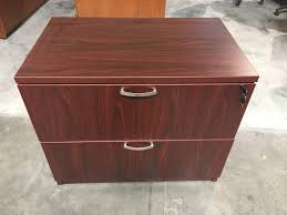 Two Drawer Lateral File Cabinet by Friant Gitana Mahogany 2 Drawer Lateral File Pre Owned Filing