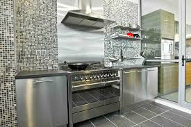 Stainless Steel Kitchen Furniture by Kitchen Ikea Shelves Stainless Steel Wall Eiforces