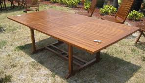 Teak Wood Patio Furniture Set - outdoor teak rectangle dining table exotic home furnishings