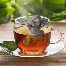 amazon com fred slow brew sloth tea infuser kitchen u0026 dining