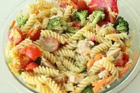 Pasta Salad Ingredients Chicken Pasta Salad Slyh In The Kitchen
