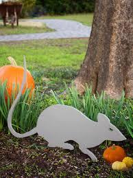 Halloween Decoration Craft Giant Rat Outdoor Halloween Decoration Hgtv