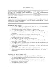 General Sample Resume Assistant Manager Sample Resume Assistant Property Manager Resume
