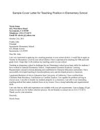 Example For Resume by Elementary Teacher Resume Cover Letter Examples Resume Template