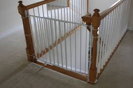 Pressure Mounted Baby Gate Best Baby Gates For Stairs With Banisters Latest Door U0026 Stair Design