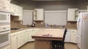 DIY Painting Oak Kitchen Cabinets White YouTube - Can you paint your kitchen cabinets
