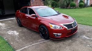 nissan altima 2016 tire size rons 2013 nissan altima modified updated nismo 20s ruff racing