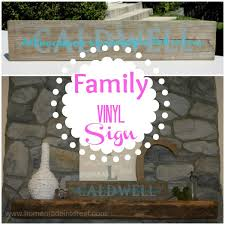 Personalized Signs For Home Decorating Family Name Sign Home Made Interest