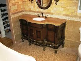 bathroom mediterranean bathroom decoration with undermount