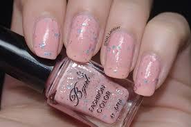 born pretty store bgirl sparkle yogurt milky glitter polish review