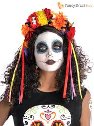 amscan womens halloween day of the dead top plus size fancy dress
