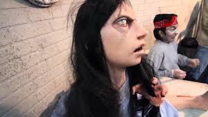 demented animated halloween prop garden yard haunted house scary