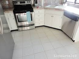 Kitchen Floor Tile Ideas With White Cabinets Livelovediy How To Restore Dirty Tile Grout