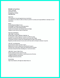 Bus Driver Cover Letter Flatbed Truck Driver Cover Letter