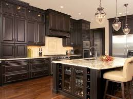Design Of Kitchen Cabinets Kitchen Chairs Beautiful White Brown Wood Glass Stainless