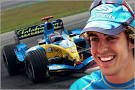 driver Fernando Alonso is