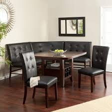 Brown Dining Room Table Finley Home Palazzo 6 Piece Dining Set With Bench Hayneedle