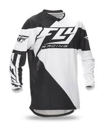 black motocross jersey fly racing 2016 f 16 black white jersey mxstore picks riding