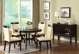 amazon com furniture of america galore 5 piece round table