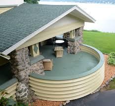 Side Porch Designs by Delavan Lake Wright In Racine