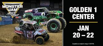 racing monster trucks monster jam golden1center