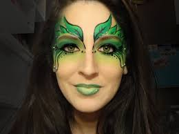 poison ivy face painting next project pinterest poison ivy