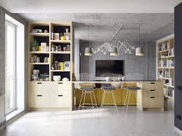 Modern Concrete Home Plans And Designs 3 Concrete Lofts With Wide Open Floor Plans