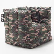 Big Joe Lumin Camo Bean Bag Chair Big Joe Cube Bean Bag Chair Hayneedle