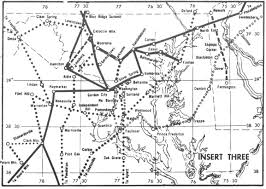 Carrier Route Maps by At U0026t Long Lines Information Sources Route Maps