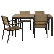 Teak Wood Patio Furniture Set - chair teak outdoor round dining table set with stacking chairs