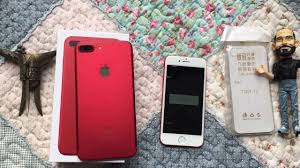 goophone i7 plus the best iphone 7 clone red color review youtube