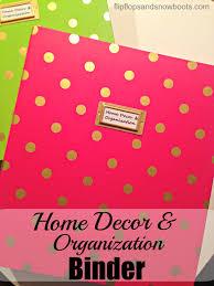 home decor and organization binder dream design diy