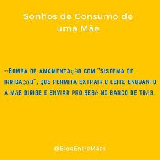 Sonhos de Consumo |
