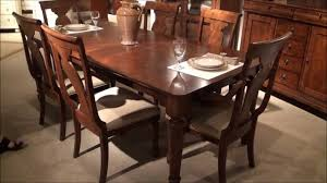 rustic traditions rectangular leg dining room set by liberty