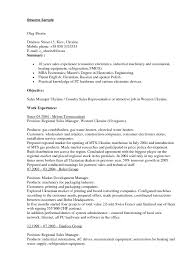 Resume for sales position Resume For Sales Rep Insurance Sales Executive Resume Insurance