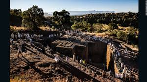 Walk with pilgrims on a journey to Lalibela  Ethiopia     s New