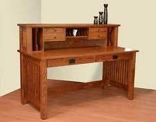 Solid Oak Office Furniture by Solid Wood Writing Desks Office Furniture Ebay