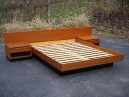 Diy Platform Bed Frame Designs by The 25 Best Platform Bed Plans Ideas On Pinterest Queen