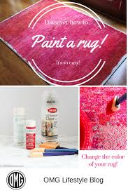 How To Clean An Outdoor Rug by Best 25 Paint A Rug Ideas On Pinterest Painting Rugs Paint Rug