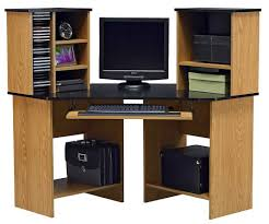 awesome oak corner computer desks with drawers and storage home